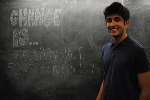 Change is responsible foreign policy. I have to say that I must agree.