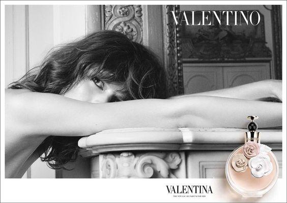 Valentino Fragrance #Ad Campaign Valentina