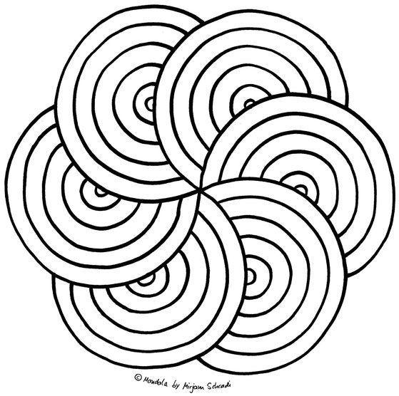 Ausmalbilder Mandalas Zum Ausdrucken Ausmalen Fur Kinder Ab 8 Jahren Grundsch Pin Dot Art Painting Handwork Embroidery Design Dot Painting