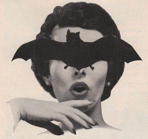 bat blind #collage