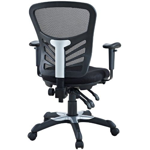 Modway Articulate Ergonomic Mesh Office Chair In Black Price As Of Details Mark A Turning Point In Your Office Tasks With This Upright Mesh Office Chair Chair Modular Home Office Furniture