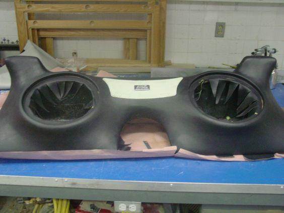 Nissan 370z Custom Fiberglass Subwoofer Enclosure
