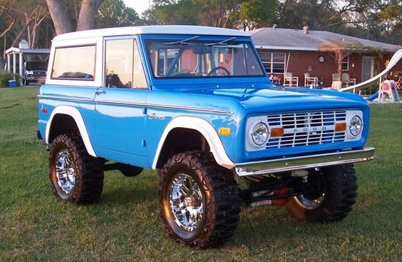 73Bronco 1973 Ford Bronco 11151576