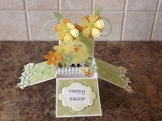 Easter Card in a Box easterspring cards etc Pinterest – Boxed Easter Cards