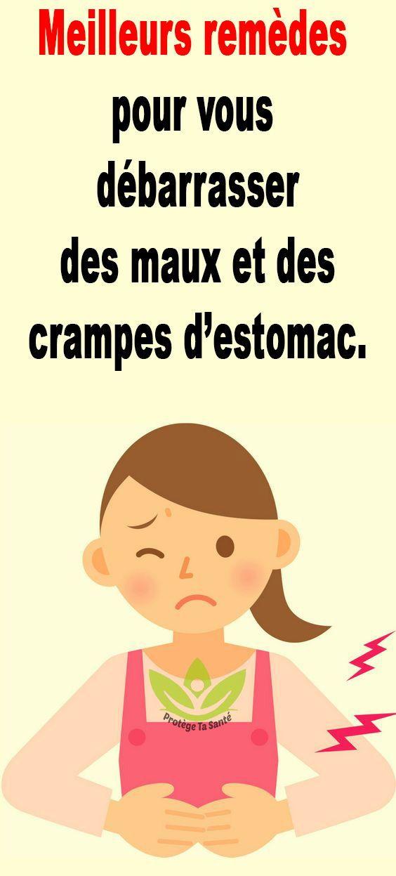 Meilleurs Remedes Pour Vous Debarrasser Des Maux Et Des Crampes D