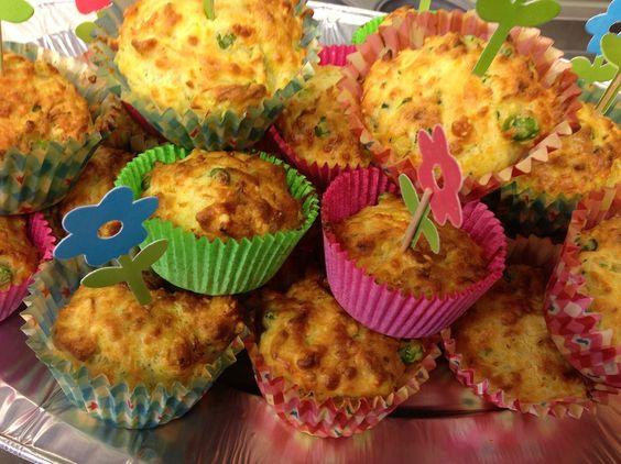 hartige groente muffins