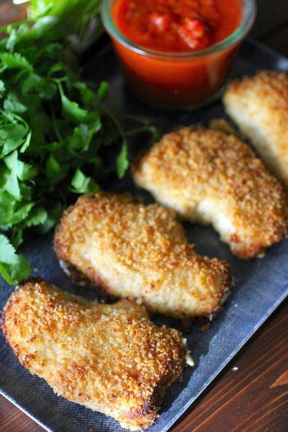 Clean Eating Garlic Parmesan Pork Chops