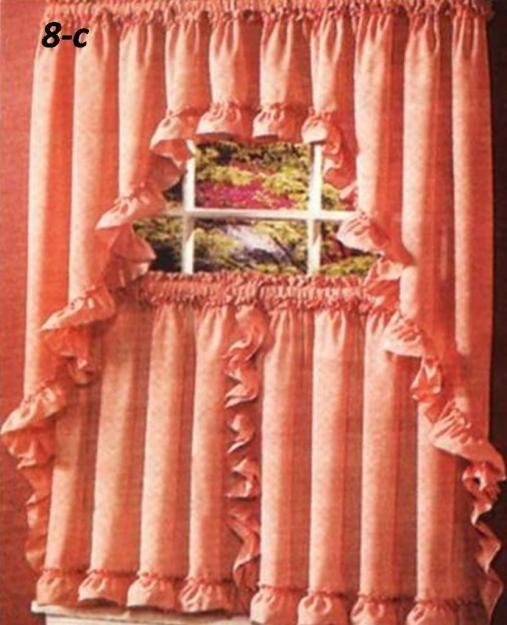Fotos de cortinas para cocina valera otros servicios - Cortinas estilo rustico ...