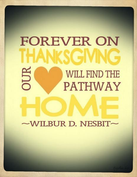 Thanksgiving Quotes and Cards to Share with Family and