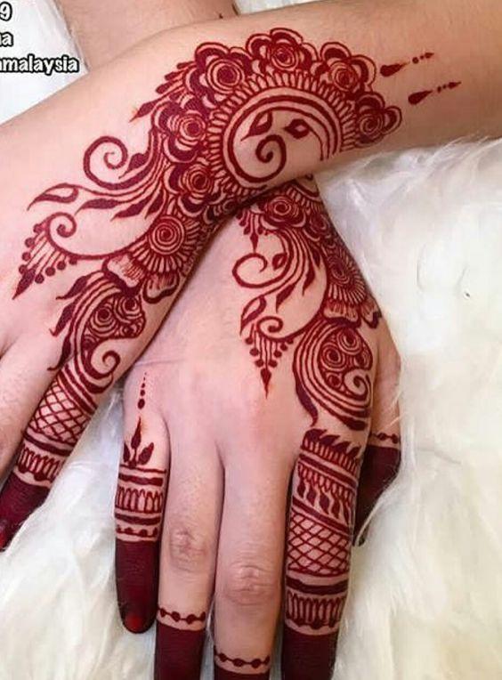 Pin By Suutje On Mehendi Designs Eid Mehndi Designs Simple