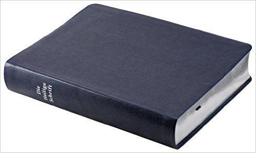 Die Bibel - kleinere Schreibrandausgabe blau : Elberfelder Überarbeitung 2003, Edition CSV-Hückeswagen, Silberschnitt, hochwertiges softweiches Kunstleder, dunkelblau, mit Karten: Amazon.de: Bücher
