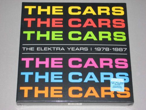 The Cars The Elektra Years 1978 1987 180g 6 Lp Colored Vinyl New Sealed Vinyl Ebay Elektra Vinyl Lp Box