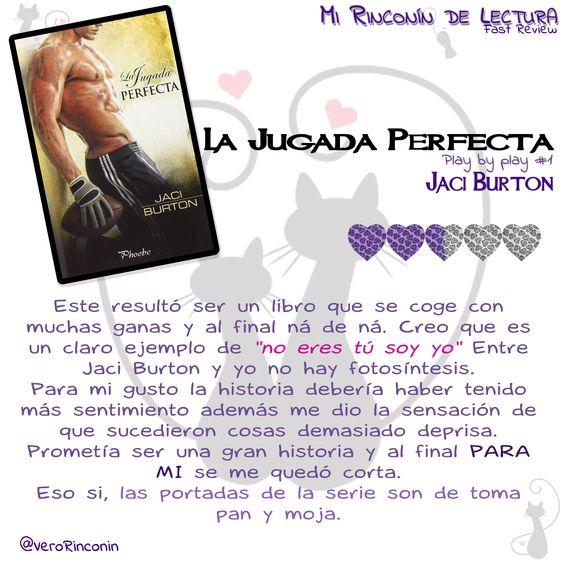 La jugada perfecta, Jaci Burton II