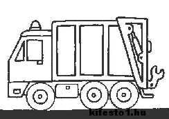 Autos 86 Jatekok Truck Coloring Pages Coloring Pages Printable Coloring Pages