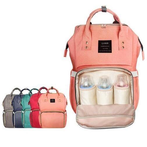 Personalised Baby Changing Bag Name Storage Carry Clothing Pram Change BOTTLE