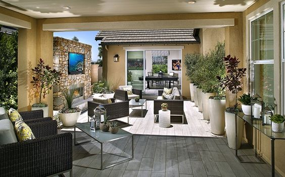 Ideal for indoor-outdoor living, find a covered Legacy Room. - Residence 2 at Crawford at Greenwood in Tustin, CA