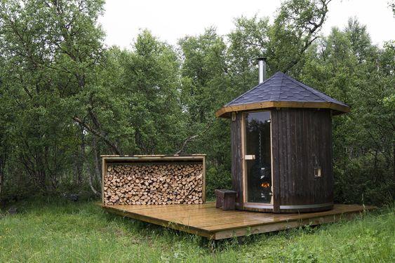 Cabin Sauna!!!!!!!!