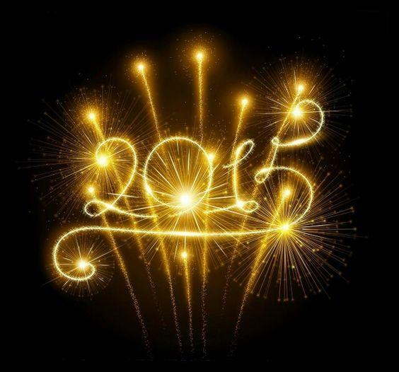 N thts the Happy New Year!  2015 v welcome's u!