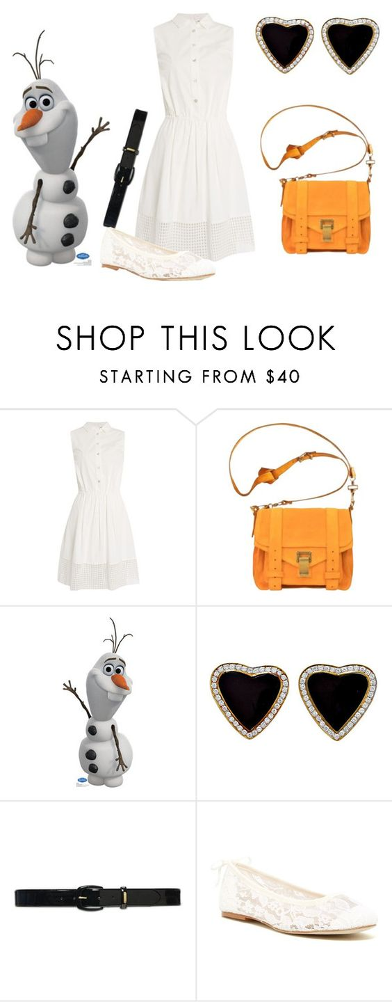 """""""Olaf"""" by indianna28-2002 on Polyvore featuring Armani Jeans, Proenza Schouler, Lauren Ralph Lauren and Soludos"""