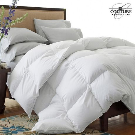 Ultra-Plush Oversized & Overfilled Down-Alternative Comforter - White at 85% Savings off Retail!