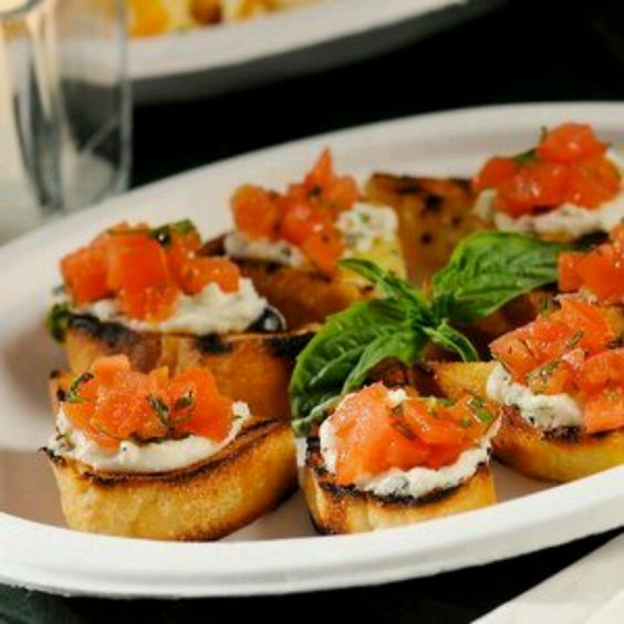 Mediterranean bruschetta recipe pinterest bruschetta for Hor d oeuvres recipes