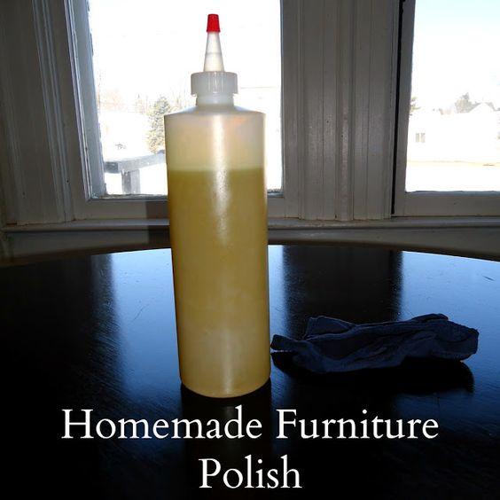 We Like Making Our Own Stuff: Homemade Furniture Polish II / http://myjournalkohn.blogspot.com/2012/03/homemade-furniture-polish-ii.html