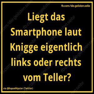 Smartphone-Knigge