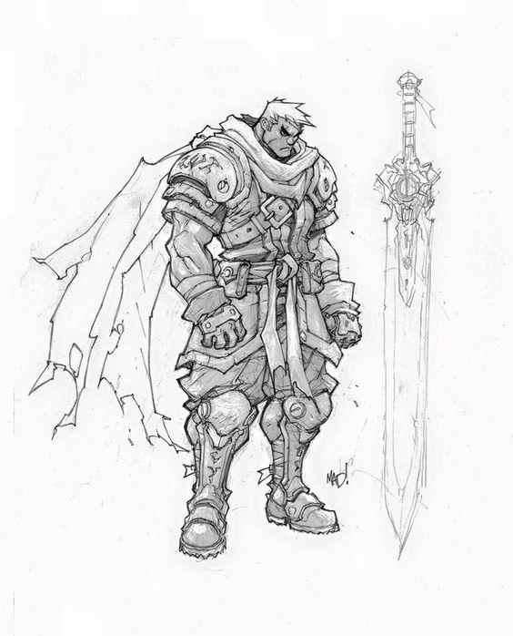 Joe Madureira - Garrison (Battle Chasers)