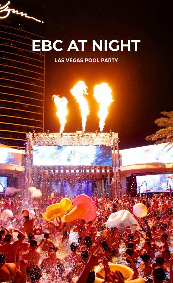 Ebc At Night Las Vegas Nightclub