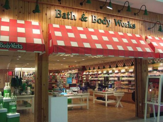 Old Style Bath Amp Body Works Store At Shenango Valley Mall