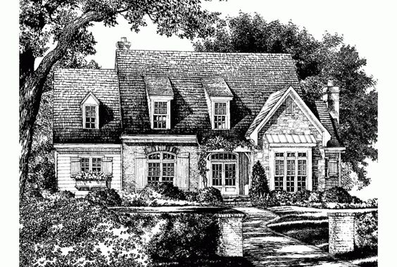 House plans french country house plans and southern for Southern french country house plans