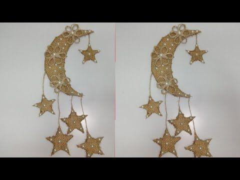 زينة رمضان من الخيش فكرة جديدة و حلوة أووى افكار جديدة لزينه رمضان ٢ Ramadan Decorations Ramadan Candles