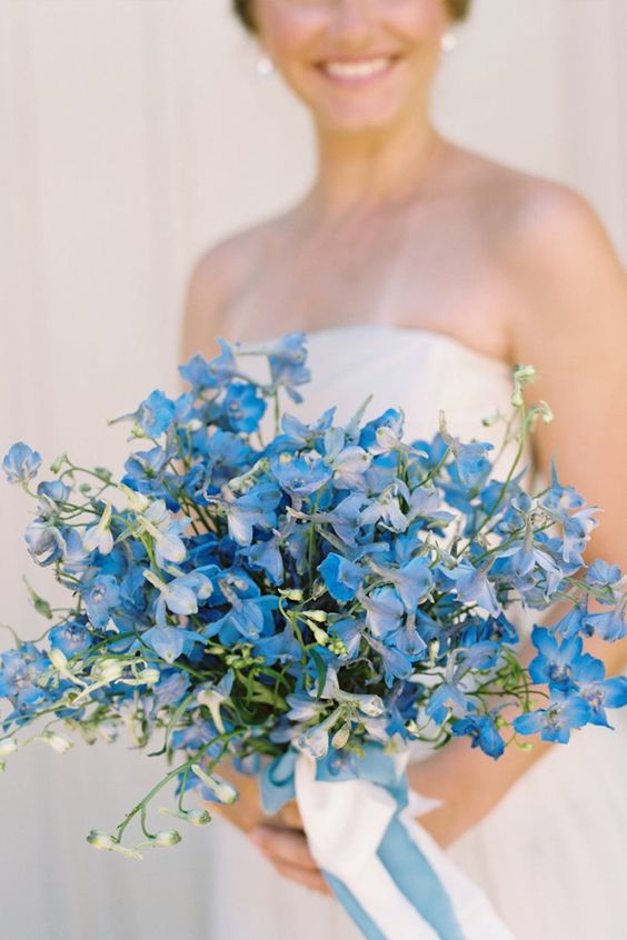 Pretty Blue & White Porcelain Wedding Inspiration