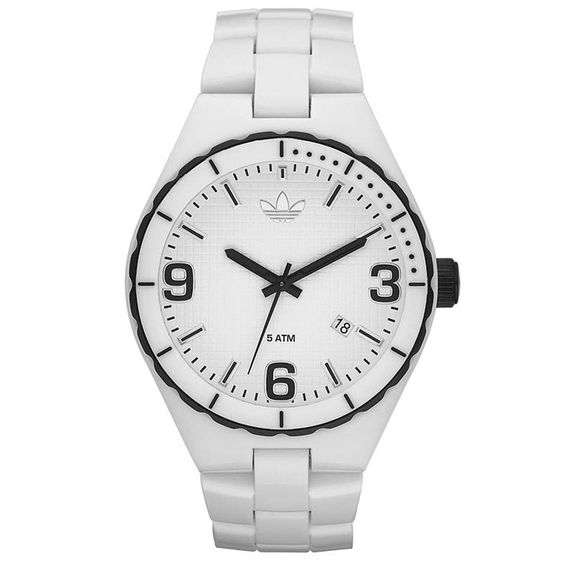 Kish.nl : Witte horloges : Adidas ADH2592 Cambridge horloge | Uniseks horloges! | http://www.kish.nl/Adidas-Horloge-ADH2592-Cambridge/