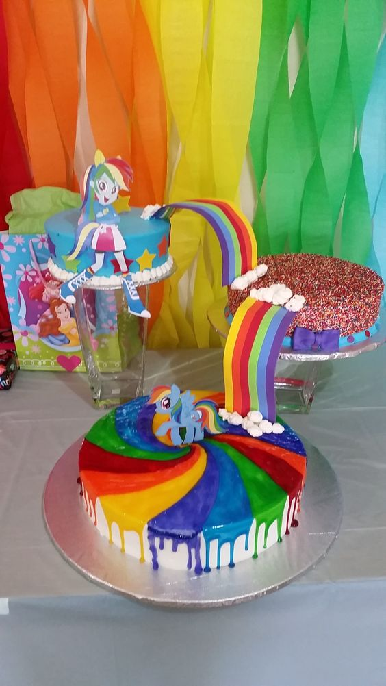 My Little Pony Pastel Fiesta De Cumplea 241 Os Pinterest