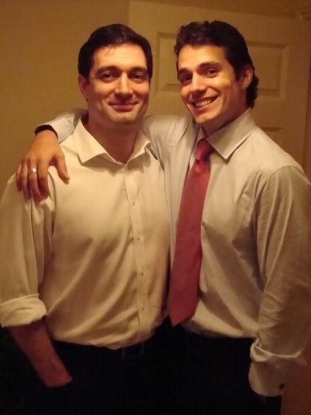 Henry e seu irmão Piers!!!! #AlwaysHenryCavill