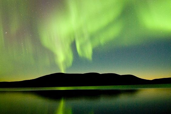 Magical Northern lights in Finnish Lapland by Visit Finland, via Flickr