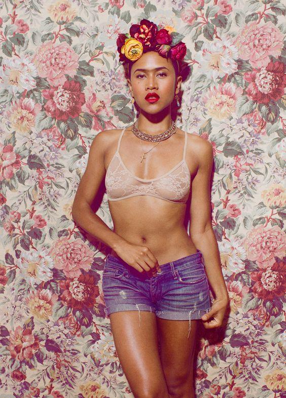 Shameless Maya (Meets Frieda Kahlo): http://shamelessmaya.tumblr.com/post/56123161627/shamelessmaya-meets-fridakahlo: