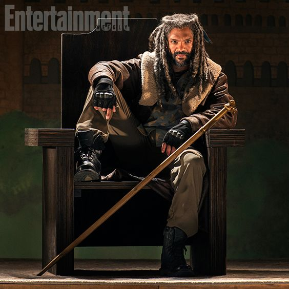 Let's just say Ezekiel — who runs a new community known as the Kingdom — is a tad eccentric. #TWD