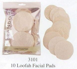 Brandon Loofah Facial Pads 3101 by Brandon. $2.99. Loofah Exfoliating Pads To Gently Remove Dead Skin From Face. 10 Pieces Per Bag.