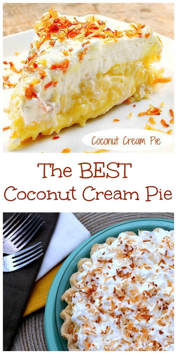 This post is a tutorial that will show you how to make a homemade pudding/pie filling so you can made The Best Coconut Cream Pie you'll ever eat!