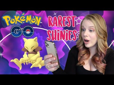 The Rarest Shiny Pokemon In Pokemon Go December 2019 Youtube Shiny Pokemon Pokemon Go Pokemon
