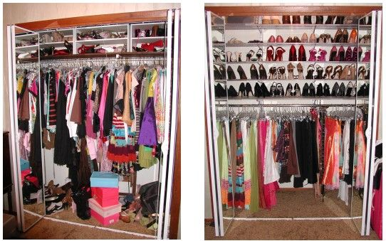 Closet Organization Mom And Organize A Closet On Pinterest