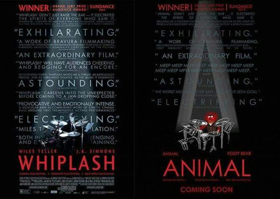 Coming soon: Whiplash/Animal