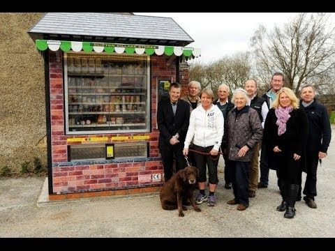 The first ever vending machine shop in the UK - YouTube
