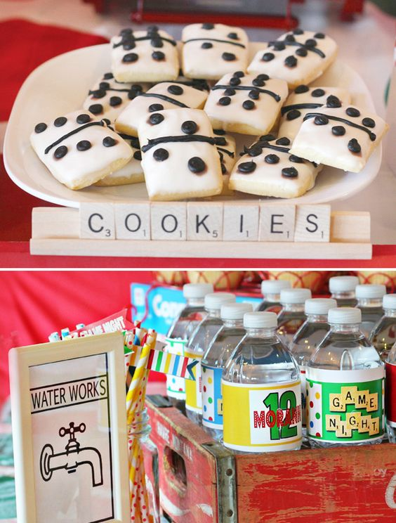 Creative Game Night Party Ideas & Sweets