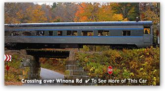 Best Fall Foliage Trains in New Hampshire for 2015 - Four Individual Trains