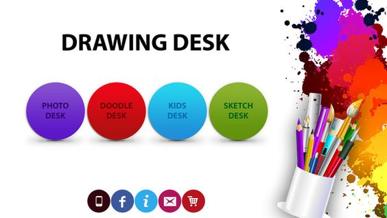 Drawing Desk - an awesome app for doodling, creating and drawing from wherever you are! Perfect for your kids to create artwork, save it, and upload it to the Compassion app to share with your sponsored child.