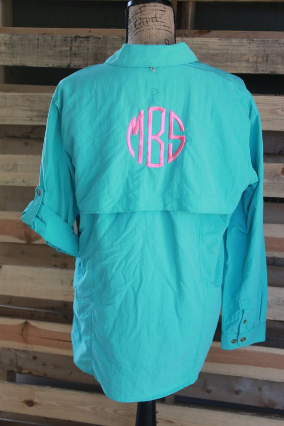 Fishing shirts fishing and monograms on pinterest for Monogram fishing shirt