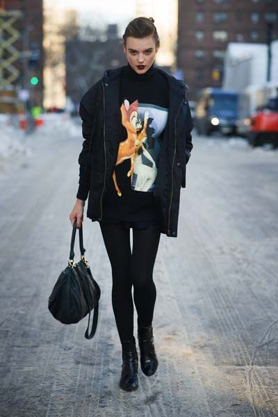 New York Fashion Week: The Best Street Style Looks Autumn Winter 2014 | Grazia Fashion